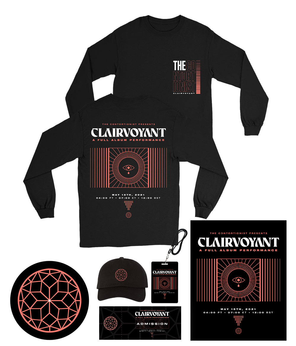 The Contortionist Clairvoyant A Full Album Performance Bundle #3 *PREORDER SHIPS 6/4