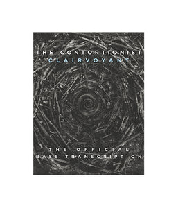 The Contortionist Clairvoyant Official Bass Tab Book Download