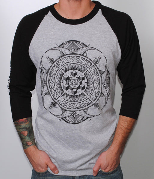 The Contortionist Flourish Raglan Shirt