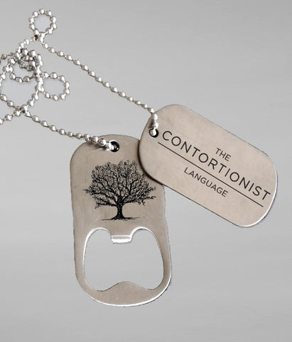 The Contortionist Dog Tag/Bottle Opener