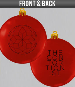 The Contortionist Ornament-Red