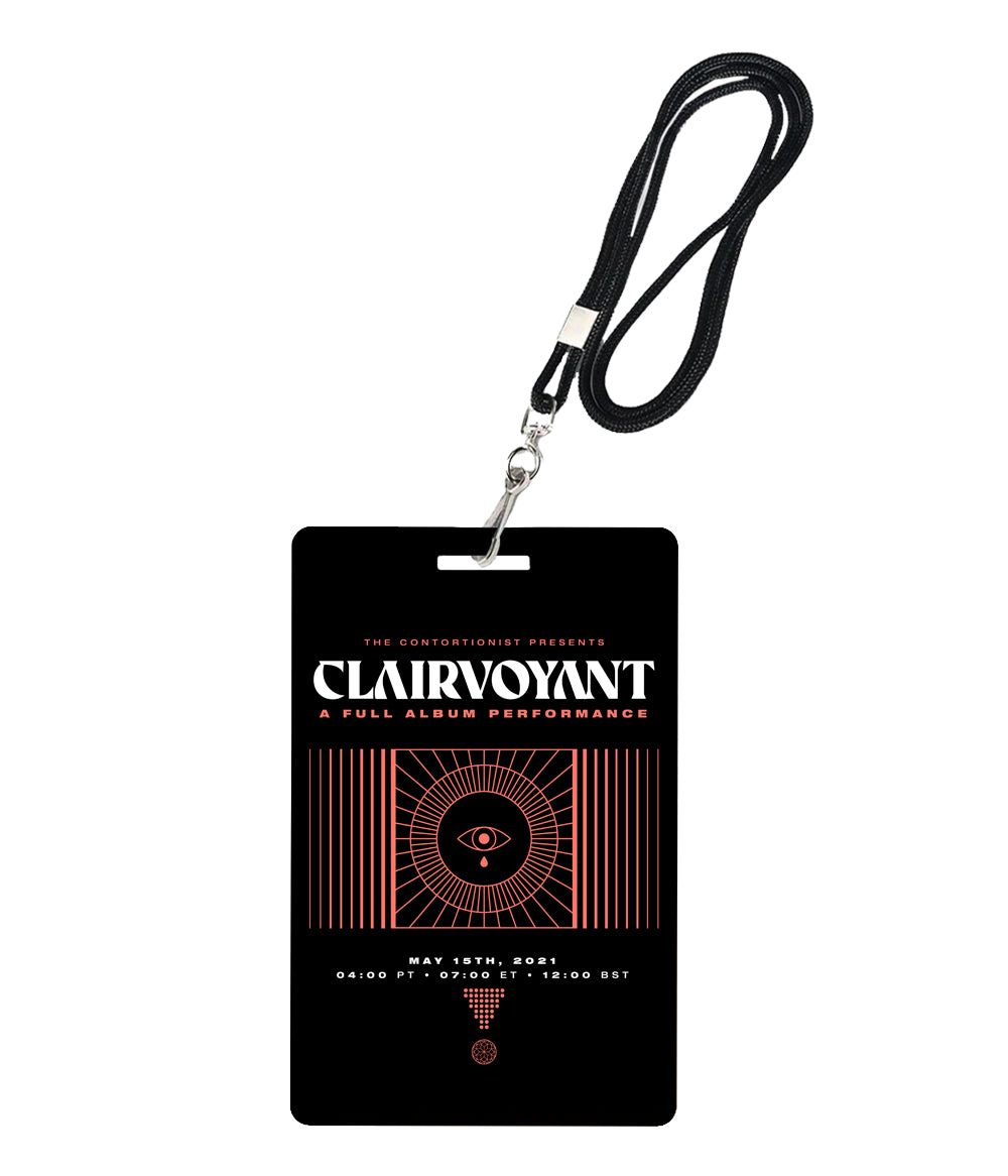 The Contortionist Clairvoyant A Full Album Performance Laminate *PREORDER SHIPS 6/4
