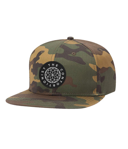 The Contortionist Mother Sun Patch Camo Snapback