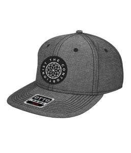 The Contortionist Mother Sun Patch Chambray Snapback PREORDER SHIPS 12/10