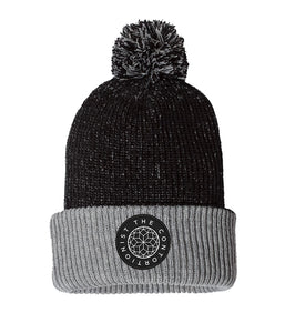 The Contortionist Mother Sun Patch Pom Beanie