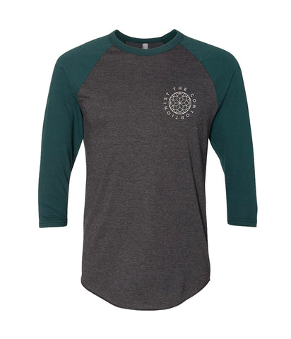 The Contortionist Mother Sun Raglan (Forest)