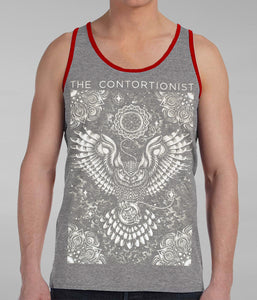 The Contortionist Owl Tank Top (Grey)