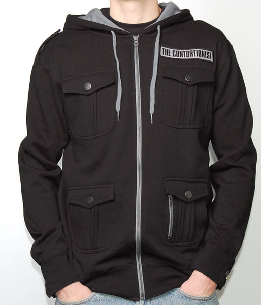 The Contortionist M65 Military Style Zip Hooded Sweatshirt