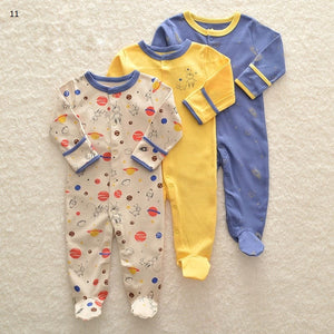 Mamas & Papas Sleepsuits - Planet (Pack of 3)