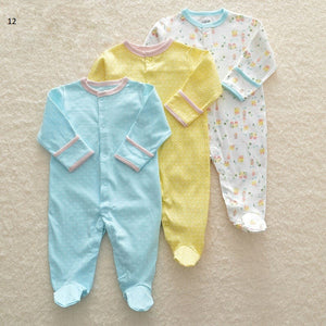 Mamas & Papas Sleepsuits - Houses (Pack of 3)