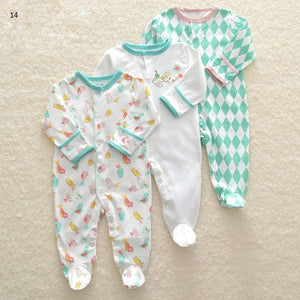 Mamas & Papas Sleepsuits - Birds (Pack of 3)