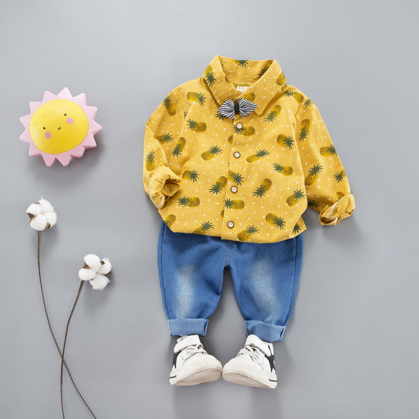 Pineapple Shirt Set