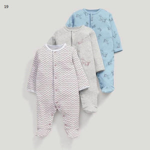 Mamas & Papas Sleepsuits - Airplane (Pack of 3) Preorder