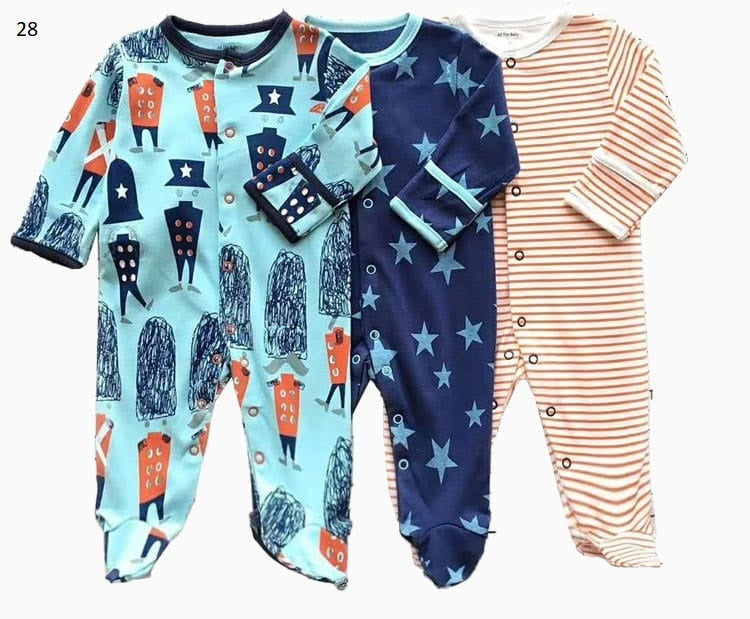 Mamas & Papas Sleepsuits - London (Pack of 3)