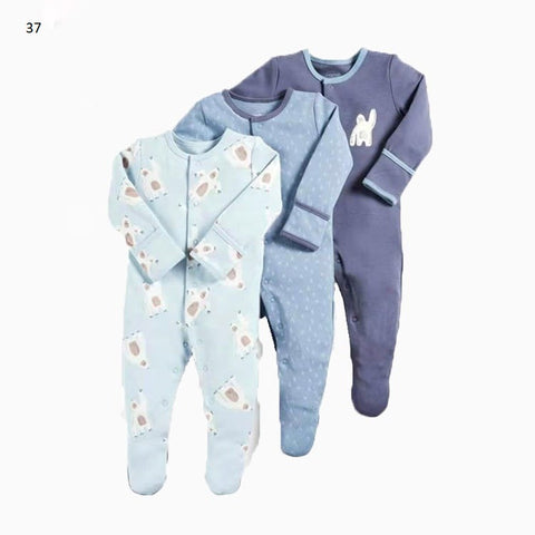 Mamas & Papas Sleepsuits - Yeti (Pack of 3)