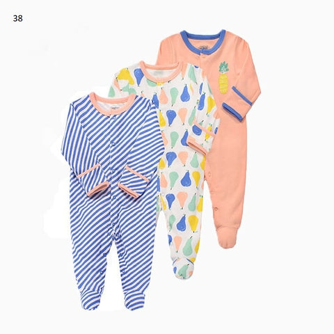 Mamas & Papas Sleepsuits - Fruits (Pack of 3)