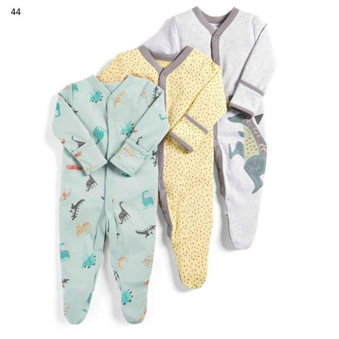 Mamas & Papas Sleepsuits - Dino (Pack of 3)