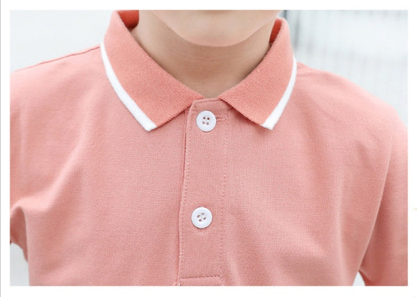 Pink Polo Dress & Shirt