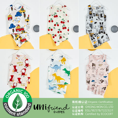【Premium】Unifriend Sleeveless Sleepwear