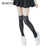 Nylon Cat Head And Tail Tattoo Stockings Lolita Velvet Knee Socks Tights