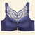 Front Closure Bra Butterfly Adjustable Plus Size Push Up Bra