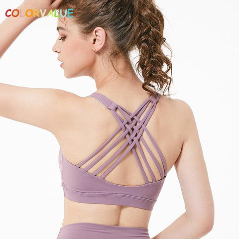 14cc207368 Wireless Push Up Sport Bra Top Women