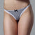 G-String Sexy Lace Scottish Tartan Brief Thong Hipster Panties