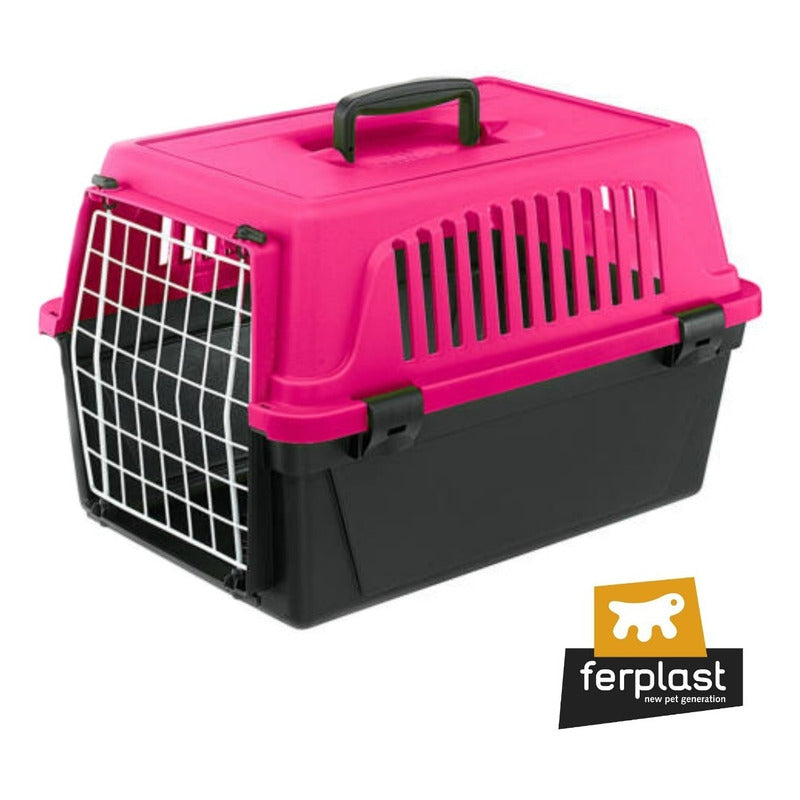 Transportadora Ferplast Atlas 10 / Color Fucsia