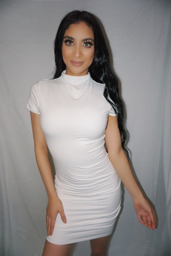 Emma Dress-White