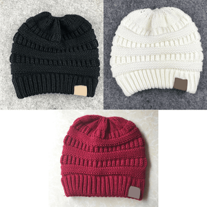 Soft Knit Ponytail Beanie | BUY 1, GET 2 FREE