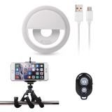 Selfie Ring with FREE Octopus Tripod & Bluetooth Shutter