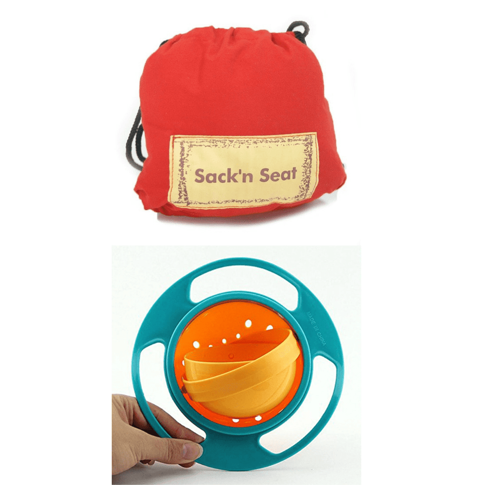 Portable Easy Seat + free anti spill bowl