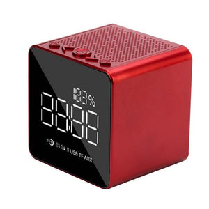 Cube Bluetooth Speaker & Alarm Clock