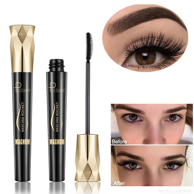 4D Silk Fiber Waterproof Eyelash Mascara | BUY 1, GET 2 FREE