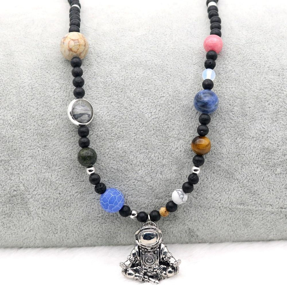 Zen Cosmonaut Necklace