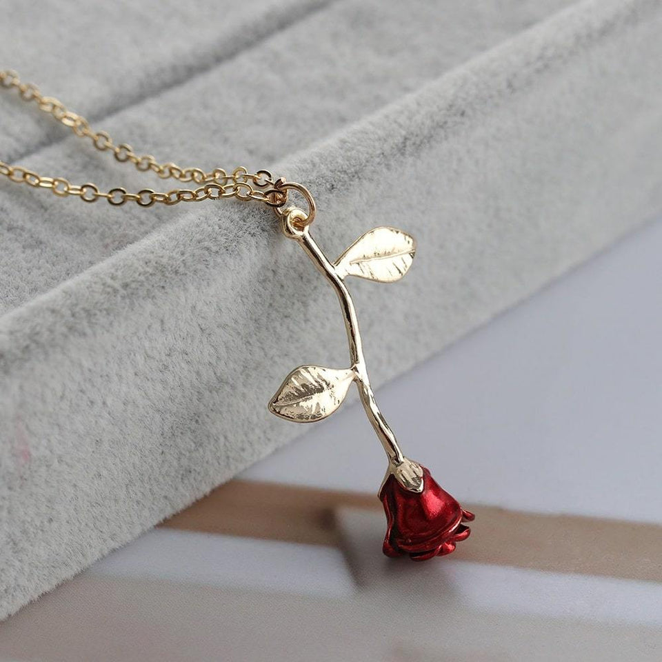 Rose Bracelet + FREE Matching Necklace