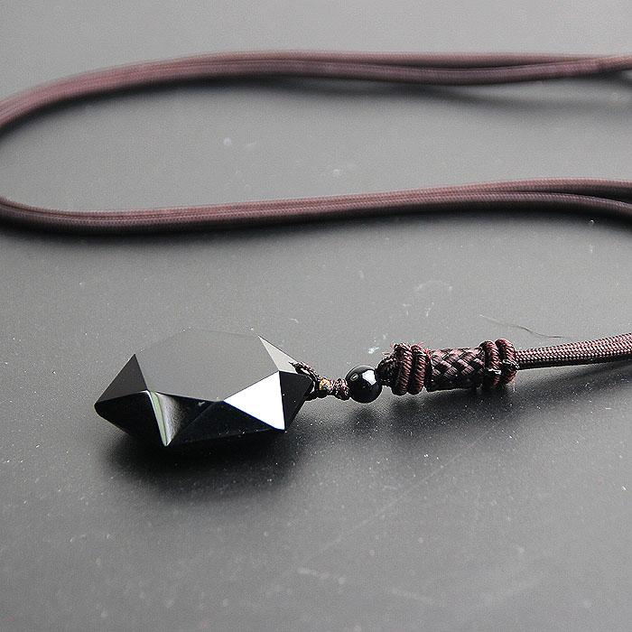 Obsidian Vitality Stone Necklace | FREE Obsidian Star Necklace