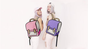 Cartoon Backpack