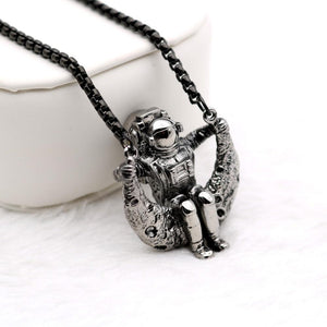 Man on the moon Necklace
