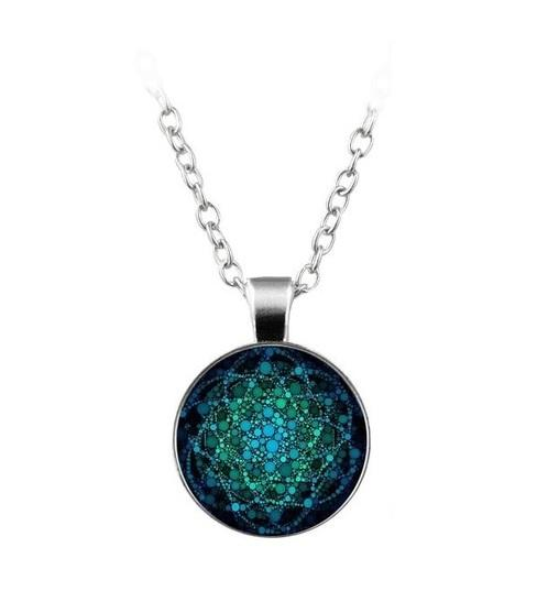 Flower of Life Necklace with FREE Bracelet & Earrings