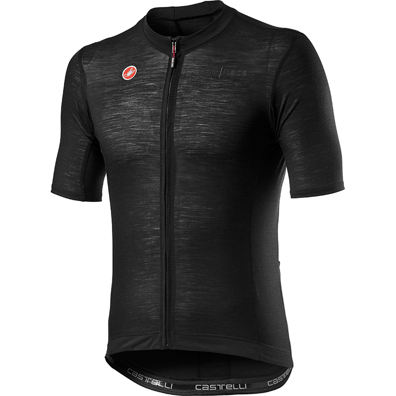 Team INEOS Summer Wool Jersey - Light Black