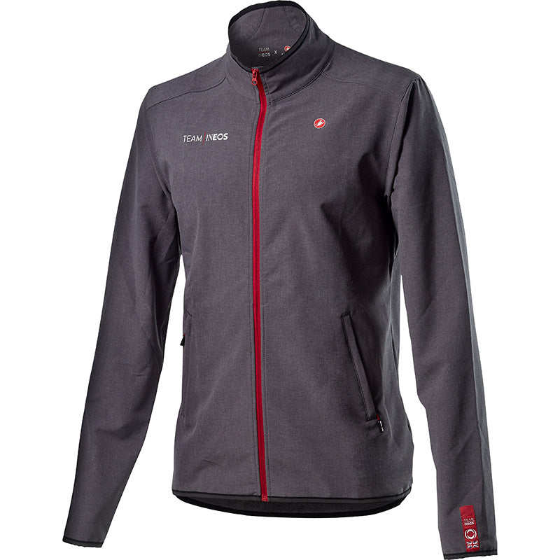 Team INEOS Race Day Track Jacket - British Grey