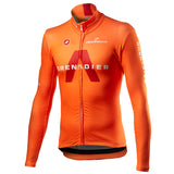 INEOS Grenadiers LS Thermal Jersey Orange