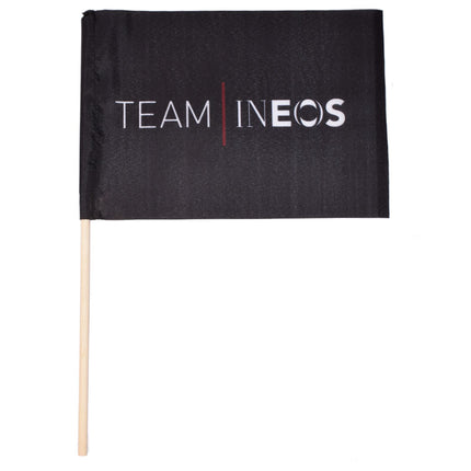 Team INEOS Hand Waver Flag Black