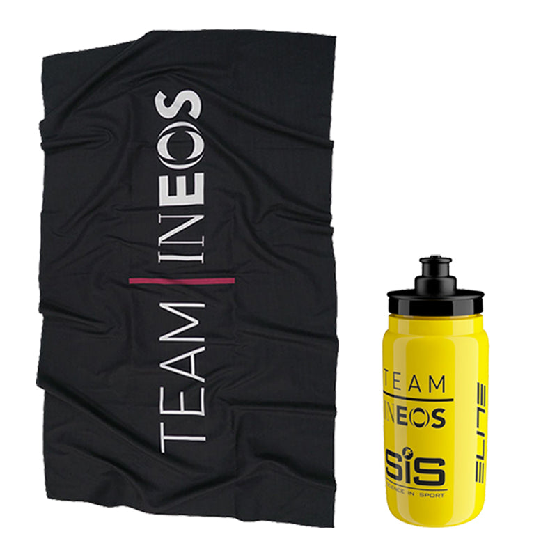 Team INEOS Bottle and Towel Training Bundle