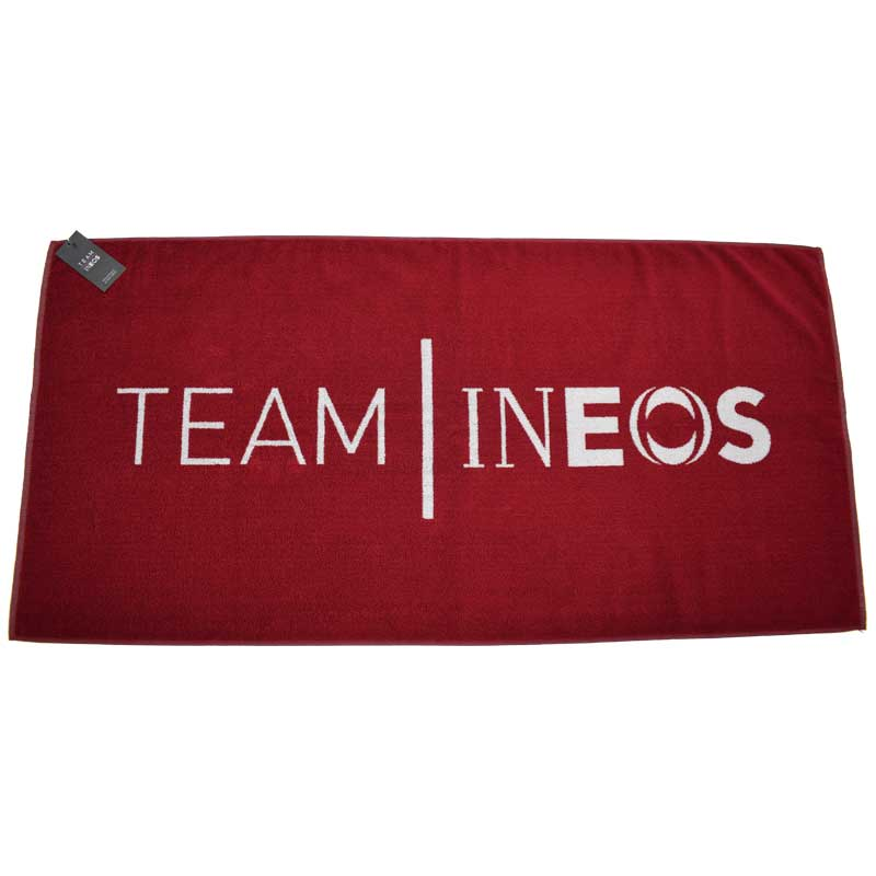 Team INEOS Premium Towel - Burgundy