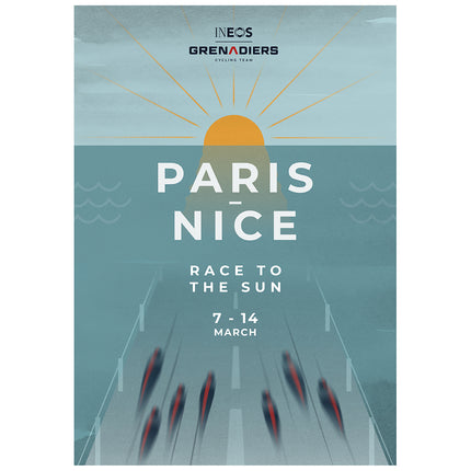 Limited edition Paris-Nice 2021 Poster