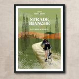 Limited edition Strade Bianche 2021 Poster