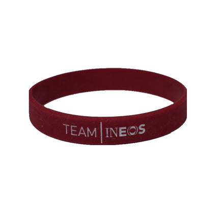 Team INEOS Wristband Burgundy