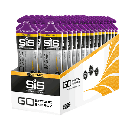 Science in Sport Go Isotonic Energy Blackcurrant 30 x 60ml